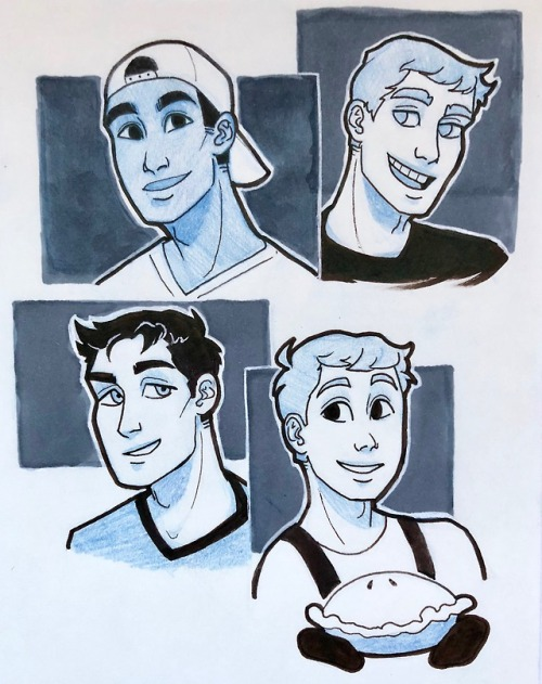 omgcp omgcheckplease my arts the boisssss doodles scheduled smh