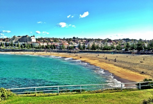 Photo taken at Coastal Walk Coogee North (http://4sq.com/18UfsCj)