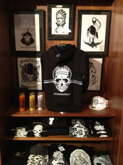 Skull shirts Upper Playground, SF 3/30/13