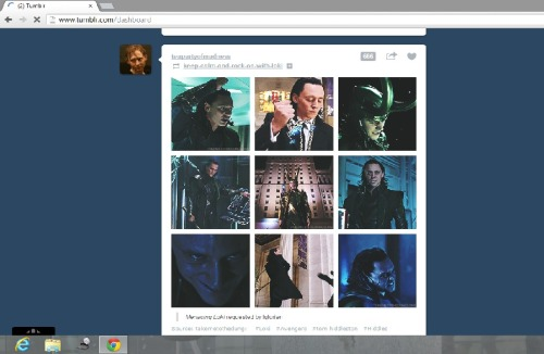 Mean loki and 666 notes.