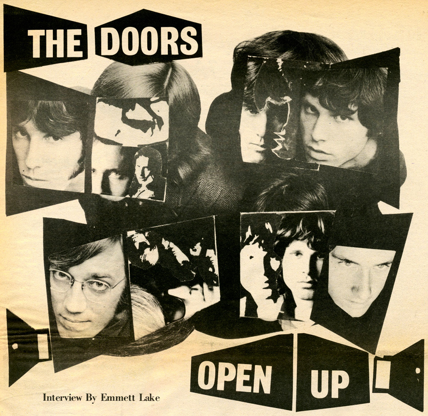 The Doors Open Up in the East Village Other (1967) here & here