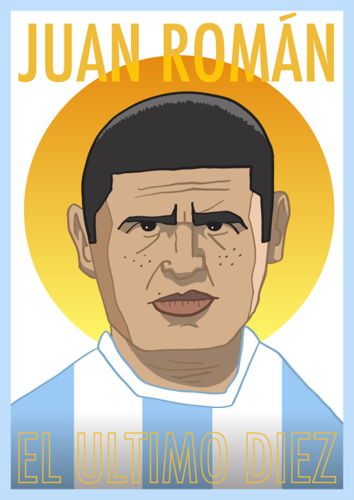 Juan Roman Riquelme. A rare breed indeed. PURCHASE PRINT