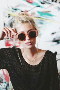 I want this sunglasses!Fashion blogger Martina Cancellotti