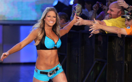 rawsmackdownnxtdivas:  Picture of the Week 5/19/13: @TheBarbieBlank