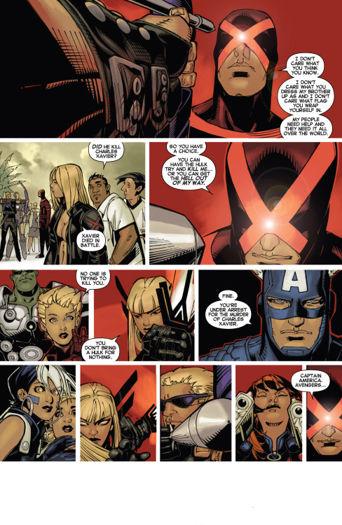 towritecomicsonherarms:  This comic is wizard Uncanny X-men #3