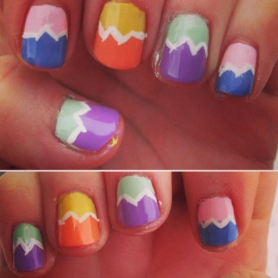 Easter egg nails :) #nailart #tradition