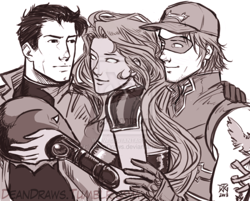 Red Hood and the Outlaws by ~DeanDraws