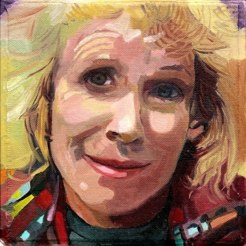 Jan Cook Mack, Self Portrait