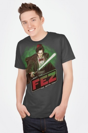 Is there anything cooler than a Doctor Who / Star Wars mashup? A fez? A bow-tie? A robotic bow-tie wearing a fez? (via May the Fez be with You)