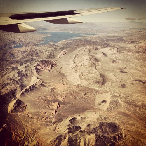 Desert air, I want to breathe you in. under 5 hours from #NYC to #Vegas.  (at McCarran International Airport (LAS))