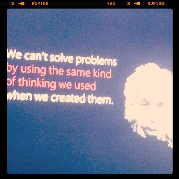 Einstein being quoted by Edmond Gozo #miniFFF #PWDO #SMARTDevNet