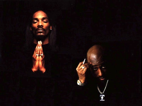 tuupacshakuur:  snoop and pac.