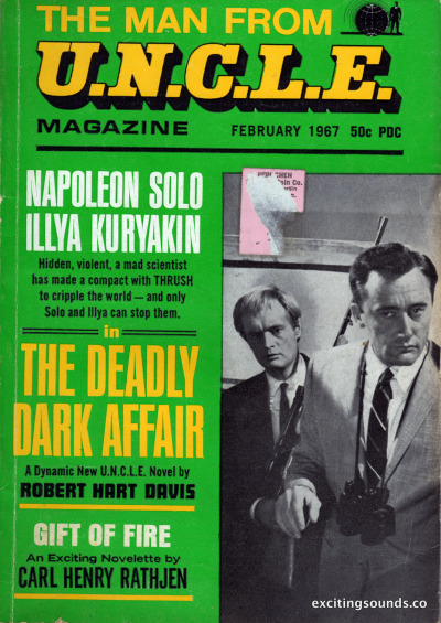 The Man From U.N.C.L.E. magazine ~ February 1967