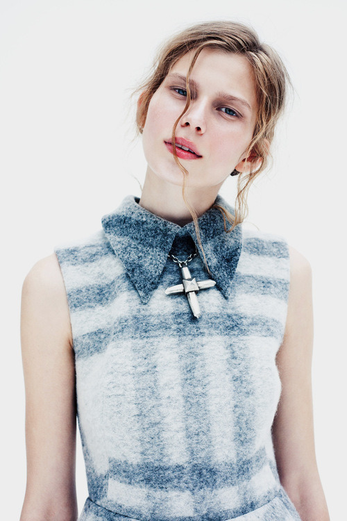 Monika Sawicka (Poland) by Billy Kidd for Viva! Moda Winter 2012