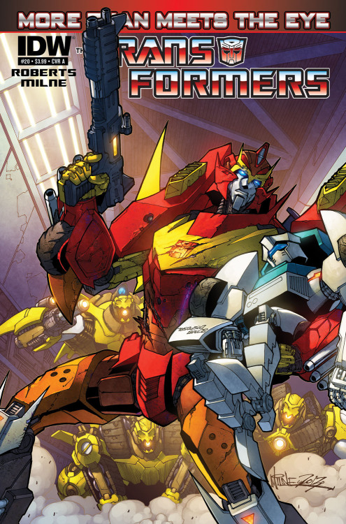 floptimus:  firelight451:  MTMTE 20 COVER! also James Roberts posted this   OH MY GOD