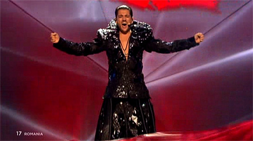 gettibucket:  dalekssouffle:  so that's what eurovision is like  Gay satan