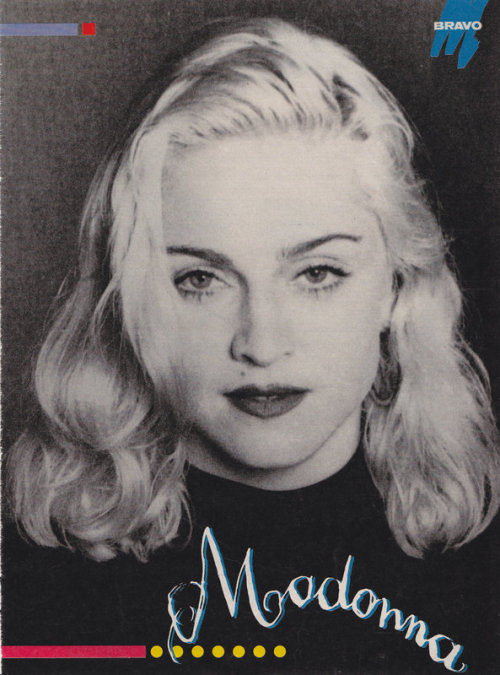 #Madonna Post Production Truth or Dare 1991