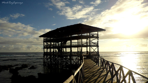 the Boardwalk at Cloud 9, General Luna, Siargao Island, Surigao del Norte, Philippines