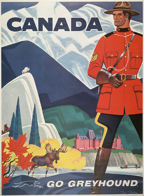 way-of-the-road:  Vintage travel posters are great.