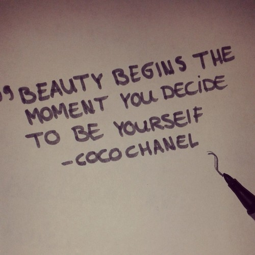 beauty quotes on Tumblr