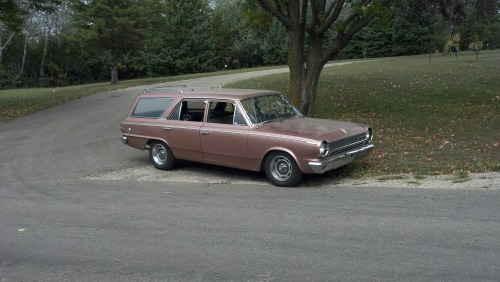 wagonation:  my 1965 Rambler American 330 wagon Show us your wagon. http://wagonation.com/submit  My wagon is getting some notes!  Ugh I miss my baby ):