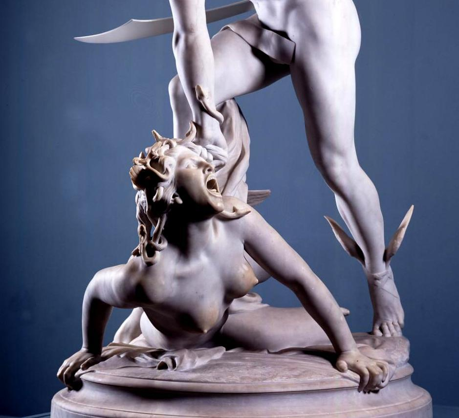 cauldronandcross:  Perseus Slaying Medusa (detail) Laurent-Honoré Marqueste 1903