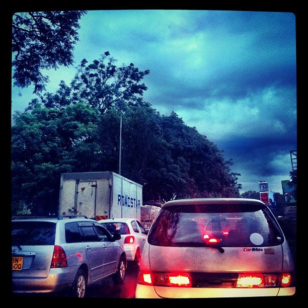 Not a fan of this traffic !
