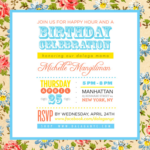 Come celebrate with us at our Dalaga Soho store on Thursday! <3
