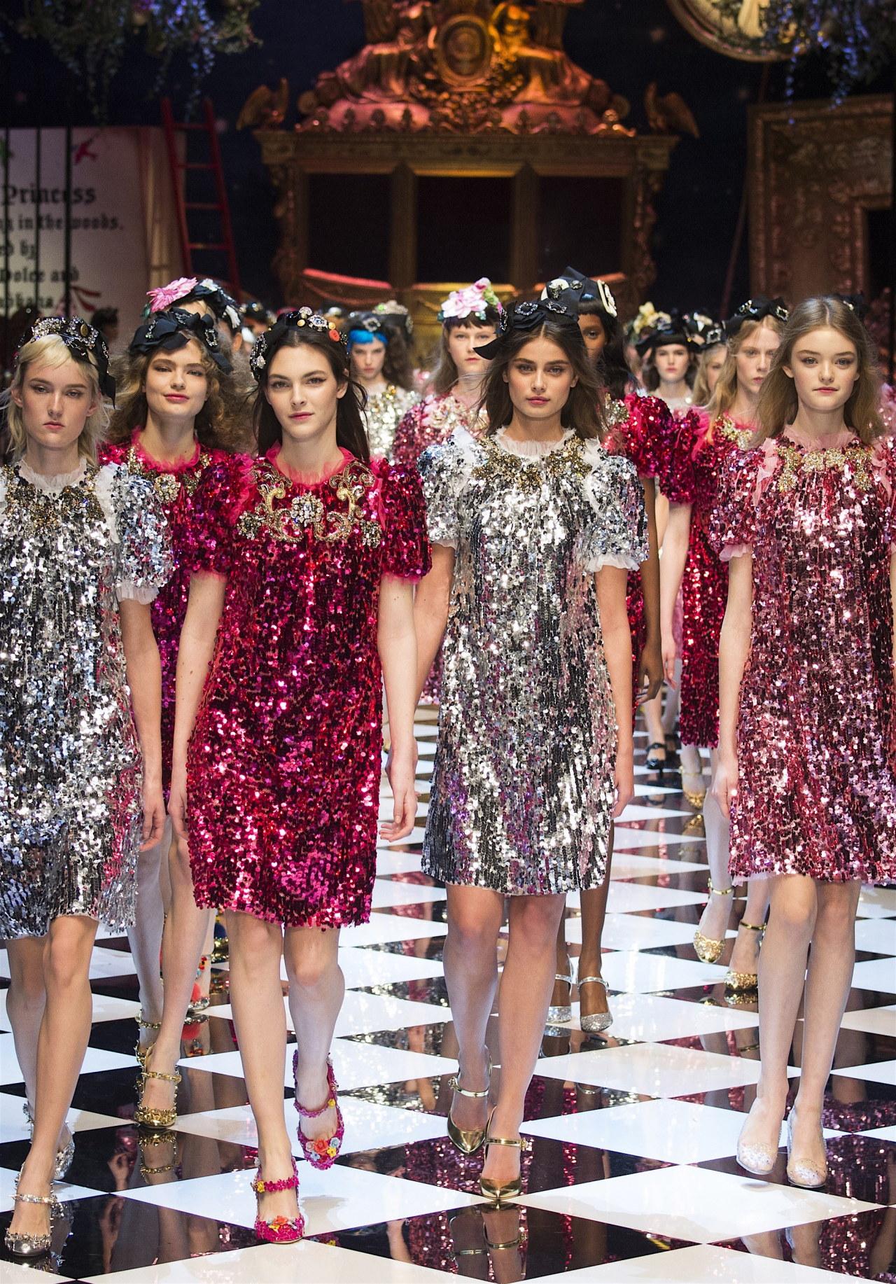 tumbledownthemountain:  Dolce & Gabbana