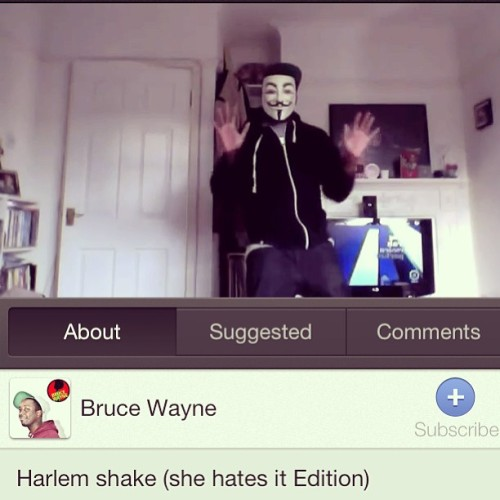 Hahaha lets hope it's the end of it now #HarlemShake #youtube #DJs #thedjlife #dumbAss