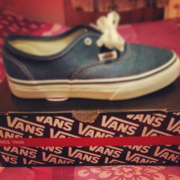 The vans-ginity is lost ;)