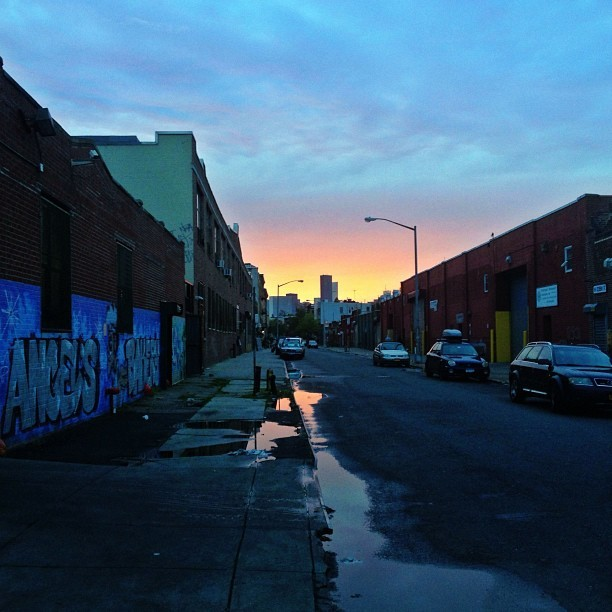 Greenpoint sunset #nofilter