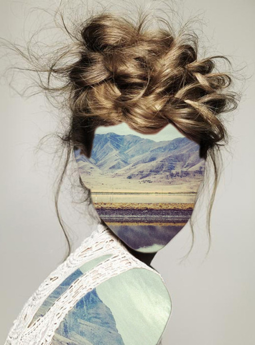 sophication:  Erin Case's Collages Silhouettes and Landscapes