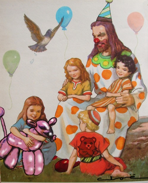 Pedo-Clown-Jesus by ~ObviouslyCloe http://dailyatheist.deviantart.com/favourites/?offset=24#/d2yolct