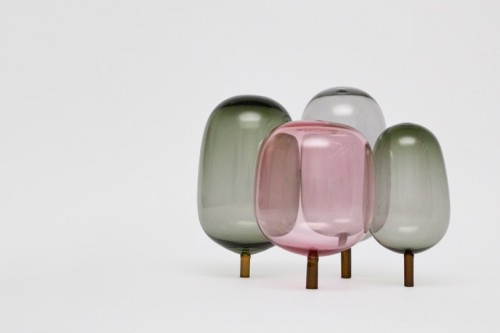 typette:  veronicawesolowski:  Really cute, glass blown 'trees' by Andreas Engesvik from Oslo. Lovely.  now this are some amazing aesthetics, it's like a 60s golden book come to life. They almost look edible!