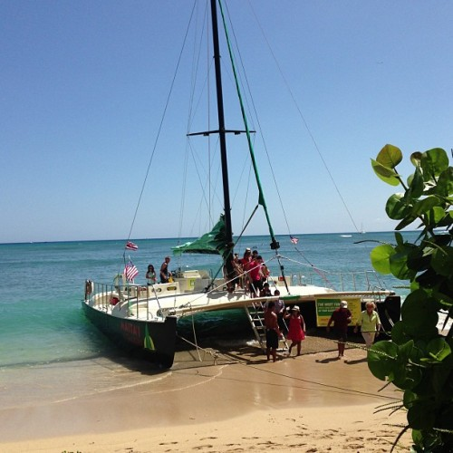 #Maitai Catamaran on #Waikiki.