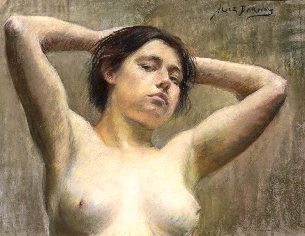 colourthysoul:  Alice Pike Barney - In Pose