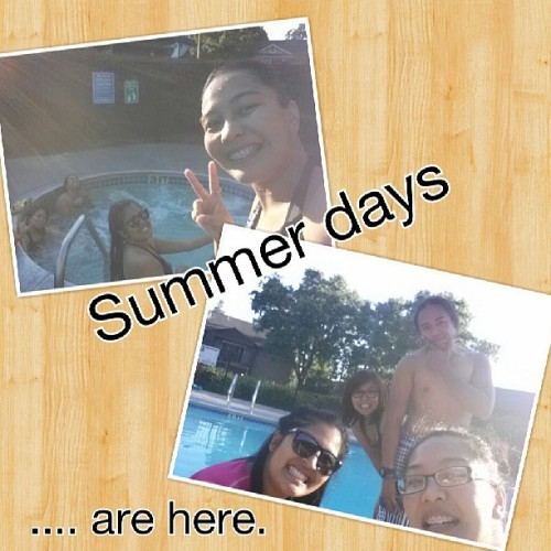 The start of summer #swimming #summer #cousins #family #bondingtime #botonesfamily #boyfriend #potd #marvelousmay #picsoftheday #130519 @juicyyfatima @iloveriyah & #kyle