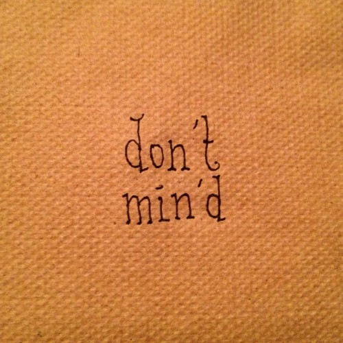 don't! #napkin #newyork #type #font #typography #manhattan #coffee #nyonmynapkin #sketch #handwriting  (at Think Coffee)