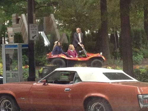 tinafeyisawesome:  Tha queens on Anchorman2