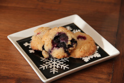 Blueberry Sugar Cookies, for Don!