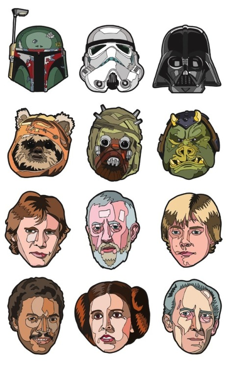 Star Wars Portraits by Danilo Agutoli