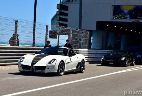 carpr0n:  On the red carpet Starring: Ferrari 599 GTB Mansory Stallone (by piolew)