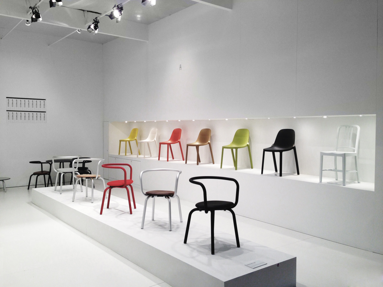 Emeco + Grcic @ICFF, New York City, NY. Jacob K. Javits Convention Center May 18-21, 2013, Stand 1732.