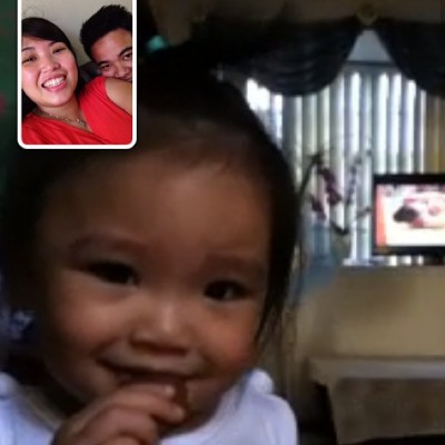 yey for net! facetime with halingerzy 👶👫