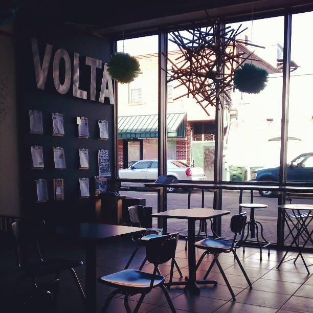 Come visit! I'll make you a great brewed coffee!!  (at Volta Coffee, Tea & Chocolate)