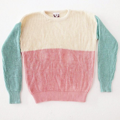The Color Block Fisherman's Pullover is coming soon in Pastels! What do you guys think?