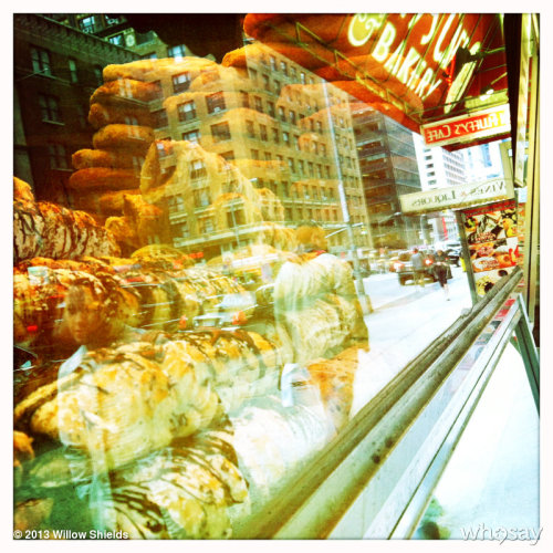 Bakery window in New York. View more Willow Shields on WhoSay