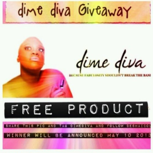 Want to win some free products? Here's your chance. Repost this pic with #dimediva and make sure your following the @deshaicole to enter. Time is ticking…