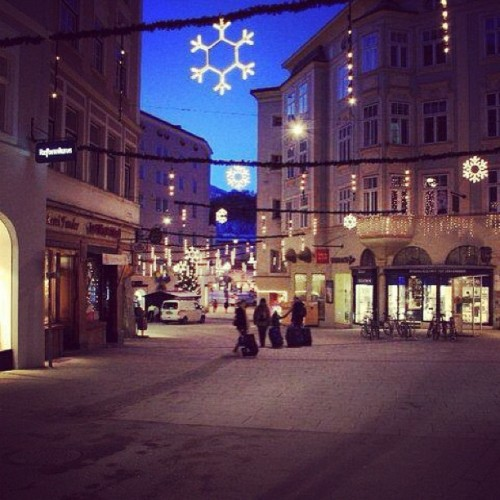Christmas in Salzburg 2010 #austria #snow  #christmas